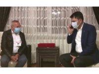 """Erdoğan'ın görüştüğü şehit babası: """"Vatanımız, milletimiz, devletimiz sağ olsun"""""""