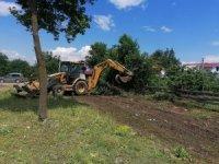 Aydınpınar köyüne çocuk parkı yapılıyor