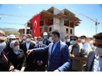 Bakan Kurum, Malatya'da yapımı süren projeleri inceledi