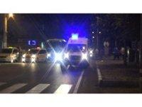 Diyarbakır'da iki otomobilin çarpıştığı trafik kazasında 2'si ağır 5 çocuk yaralandı