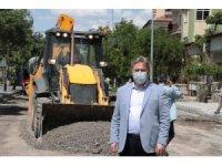 Melikgazi Belediyesi pandemi sürecini fırsatını çevirdi, 28 bin ton asfalt serdi