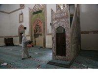 Odunpazarı'ndaki camiler dezenfekte ediliyor