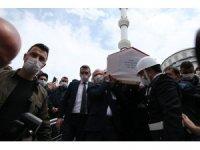 Bursa'da şehit polis memuru göz yaşlarıyla son yolculuğuna uğurlandı