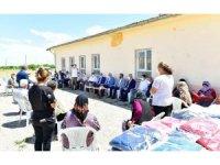 Milletvekili Kahtalı ve Başkan Çınar, mahalleleri ziyaret etti