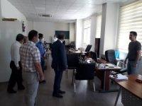 Müdür Alagöz, Kahta MEM personeli ile bir araya geldi