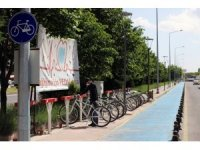 Bisiklet istasyonları tekrar hizmet vermeye başladı