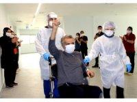 Kovid-19 ile mücadelede yeni bir başarı Erzurum'da yapıldı