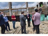Vali Yazıcı, Edremit'te yatırımları inceledi
