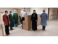 Başhekim Bilgin'den korona hastalarına moral