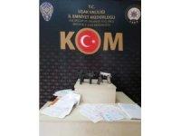 Uşak'ta tefeci operasyonu: 5 gözaltı