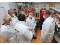 Vali Varol'dan Suluova'daki fabrikalarda inceleme