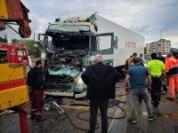 Samsun'da tır dehşeti: 5 yaralı
