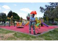 Bünyan Belediyesi tarafından çocuklar için parklar hazırlandı