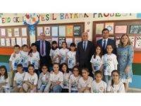 Eko Okul Yeşil Bayrak Projesi ile farkındalık sağlamayı hedefliyorlar