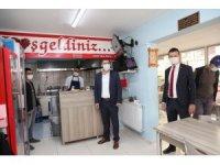 Başkan Ercengiz'den esnaf ziyareti