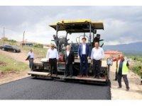 Erzincan'da asfalt sezonu açıldı
