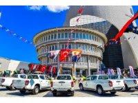 Malatya'da belediyenin araç filosuna 106 yeni iş makinası ve araç katıldı