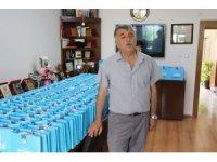 Akdeniz Belediyesinden Berberler ve Kuaförler Odasına dezenfektan desteği