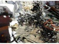 Afyonkarahisar'da kontrolden çıkan otomobil mermer fabrikasına girdi: 1 ölü, 3 yaralı