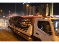 E-5 karayolunda makas terörü kaza ile sonuçlandı: 1 kişi yaralandı