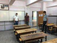 LGS öncesi sınav salonları uygun hale getiriliyor