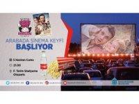 Başakşehir'de arabada sinema akşamları başlıyor
