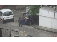 Tokat'ta dolu yağışı etkili oldu