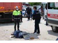 Yozgat'ta kamyonun altında kalarak hayatını kaybetti