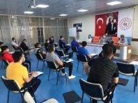 Gençlik ve Spor İl Müdürlüğü'nde antrenörlerle toplantı yapıldı