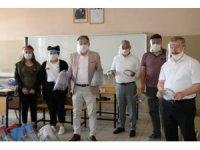 Liseliler 6 ilin dezenfektan ihtiyacını karşılıyor
