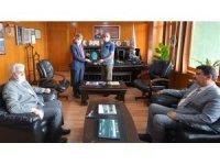 Rektör Uysal'dan Bölge Müdürü Keskin'e teşekkür ziyareti