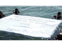 Beylikdüzü'nde Dünya Çevre Günü'nde deniz temizliği