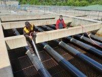Sinop İçme Suyu Arıtma Tesisine bakım