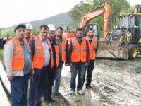 Taşköprü Belediyesi, ilçede çalışmalarını sürdürüyor