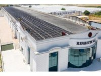 Dev fabrika, enerjisini güneşten alıyor
