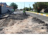 Kahta'da yol yapım çalışmaları aralıksız devam ediyor