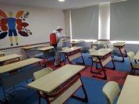Bafra Belediyesi'nden YKS öncesi okullara dezenfeksiyon