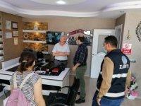 Adana'da iş yerlerine eş zamanlı denetim