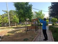 Mardin Büyükşehir Belediyesinden haşereye karşı mücadele