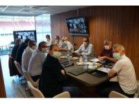 Trabzonspor yönetimi toplandı