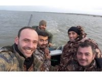 Türk avcılardan 'komşuya göz dağı'