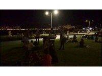 İzmir Emniyetinden sosyal mesafe denetimi