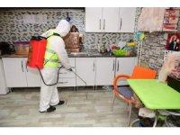 Altınordu Belediyesi kentteki dezenfekte çalışmalarını sürdürüyor