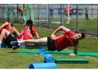 Çaykur Rizespor'da Galatasaray maçı hazırlıkları devam ediyor