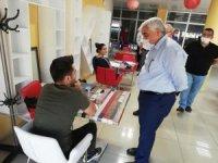 Milletvekili Dülger Gençlik Merkezinde incelemelerde bulundu