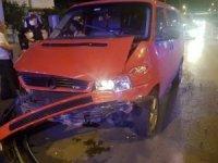Fatsa'da trafik kazası : 8 yaralı
