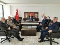 AK Parti Kargı Teşkilatı'ndan Ahlatcı'ya ziyaret