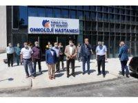 Milletvekili Tüfenkci, Onkoloji Hastanesini inceledi
