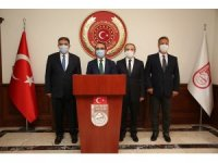 Tarım ve Orman Bakan Yardımcısı Akif Özkaldı Bayburt Valiliği'ni ziyaret etti