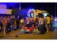 Osmaniye'de iki motosiklet çarpıştı: 3 yaralı